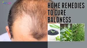 How To Treat Baldness Or Regrow Hair On Bald Spot Home Remedy