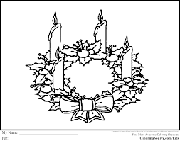 Small Picture Advent Wreath Coloring Page Best Coloring Pages adresebitkiselcom