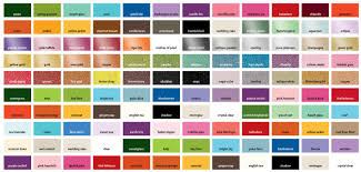International Paint Color Chart Car Tuning Lentine Marine