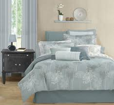 blue and gray bedding best blue bedding and comforter sets blue and gray bedding popideas intended