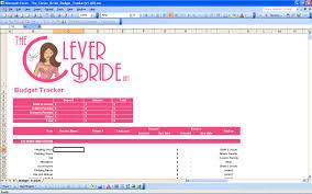 15 useful wedding spreadsheets