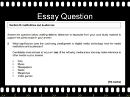 film technology essay essay question >> 0 >> 1 >> 2 >> 3 >> 4 >