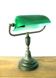 green table dark green table lamp shades mint desk home furniture lighting lamps glass vintage bankers green table dark green table lamp shades
