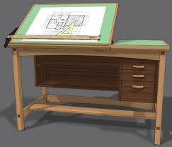 drafting tables free drafting table plans woodworking project plans my old drafting table