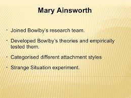 attachment theory bowlby essay custom paper academic service attachment theory bowlby essay attachment theory and sibling rivalry essay i found two theories that