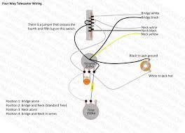telecaster four way wiring diagram fender telecaster wiring diagram humbucker Fender Telecaster Wiring Diagram #20