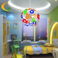 children bedroom lighting. Simple Led Modern Lighting Kids Bedroom Pendant Light Children Home Cartoon Boy Room Lamp-in Lights From B
