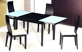 full size of small dark oak dining table and chairs black glass 2 round modern set