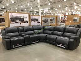 pulaski furniture leather power reclining sectional