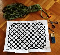 the materials you ll need to complete your rope rug