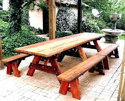 round wooden picnic table plans round wooden picnic table plastic wood plans