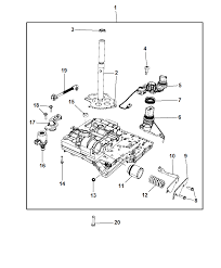 2017 dodge journey valve body related parts