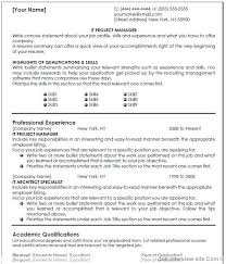 It Management Resume Examples It Project Manager Resume Template