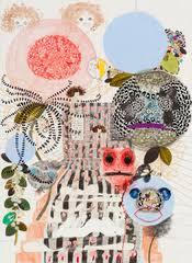 """Steps, Simone Shubuck Simone Shubuck, Steps, 2010, mixed media on paper, 30"""" x 22"""" - steps"""