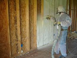 staggering key to correct spray foam insulation why is not a diy job kc