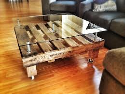 square ottoman coffee table glass