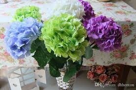 ball flowers. silk hydrangea flower ball decorateive real touch artificial flowers good quality for wedding garden market decoration pomander -