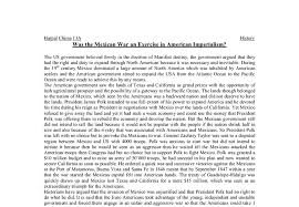 was the mexican war an exercise in american imperialism a level document image preview