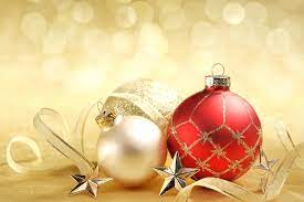 Gold And Red Christmas - 1280x853 ...