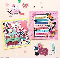 Spring Photo Cards Spring Spring Cards Pink Paislee