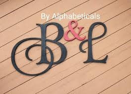 good wooden letters wall decor 6 monogram initiallarge for uk decoration ideas