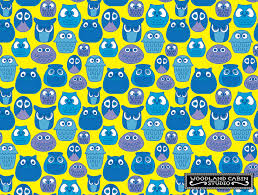 Owl Pattern Magnificent Retro Owl Pattern Woodland Cabin