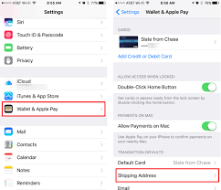 You will want to remove the old sim card and insert the new one. How Do I Add Change The Shipping Address For Apple Pay The Iphone Faq