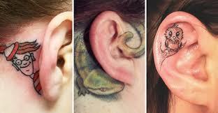 16 Ušních Tetování Které Namlsají Chuťové Buňky Mika Tysona Reflexcz