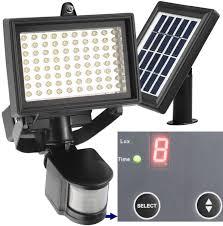 Best Solar Security Light 80 Led Solar Power Motion Sensor Light Outdoor Security