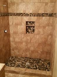 before the installation of the glass block it is highly recommended that the curb and the shower area be tiled before the glass block is installed
