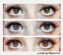 doll makeup with dolly eye bling pink circle lenses