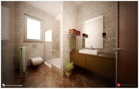 simple brown bathroom designs. Wonderful Simple Attractive Brown Beige Mod Bathroom Studio Semsa With Simple Designs