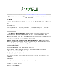 Sample Resume Entry Level Graphic Designer Augustais
