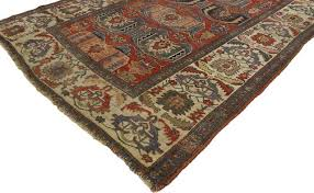 consigned antique persian bijar rug 5 x8 4 mediterranean area rugs by esmaili rugs and antiques inc