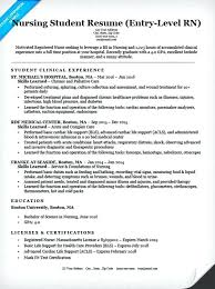 Nursing Student Resume Gorgeous Nursing Student Resume Template Free Nursing Student Resume Example