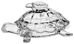 Купить <b>Доза Черепаха Crystal Bohemia</b> 26,5 см хрусталь по ...