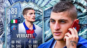 THE SCORPION KING! 🦂 88 FREEZE VERRATTI PLAYER REVIEW! - FIFA 21 Ultimate  Team - YouTube