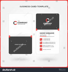 Double Sided Business Card Template Word Free Downloads Two