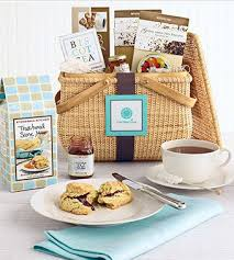 another gift basket celebrates the afternoon tea ritual with all the ts the martha stewart afternoon tea gift basket also es in the nantucket