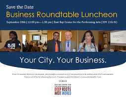 save the date business roundtable flyer 2