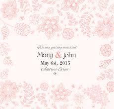 Free Invitation Background Designs Wedding Invitation Background Designs Hand Painted Floral Wedding