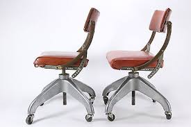 industrial office chairs. Two Domore Chair Co Industrial Office Chairs Rolling Steampunk Mid