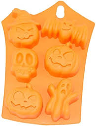 2 Packs <b>Silicone</b> Chocolate <b>Molds Halloween</b> DIY Fondant <b>Cake</b> ...