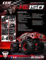 CEN Racing HL150 Annihilator Monster Truck « Big Squid RC – RC Car ...