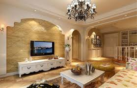 Wall Tv Decoration Tv Wall Decoration With Vases And Cabinet Download 3d House