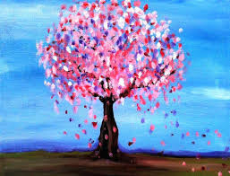 easy canvas paintings the best acrylic ideas on