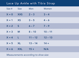 Lace Up Ankle Brace With Tibia Strap Breg Inc