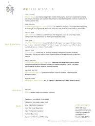 Creative Resume Formats – Letter Resume Source