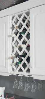 Wine Racks For Kitchen Cabinets 25 Best Ideas About Wine Rack Cabinet On Pinterest Built In