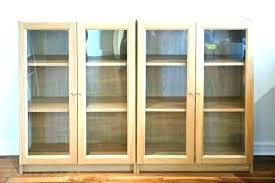 bookcase with glass doors ikea bookshelves white